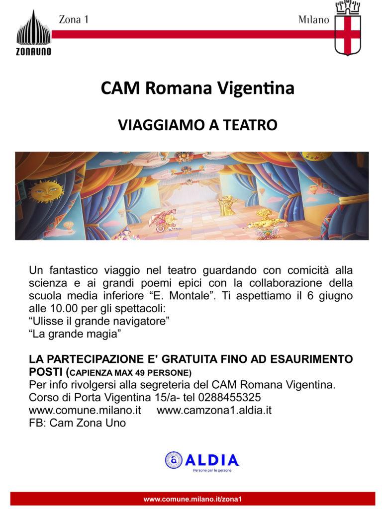 Viaggiamo a Teatro - CAM Romana Vigentina