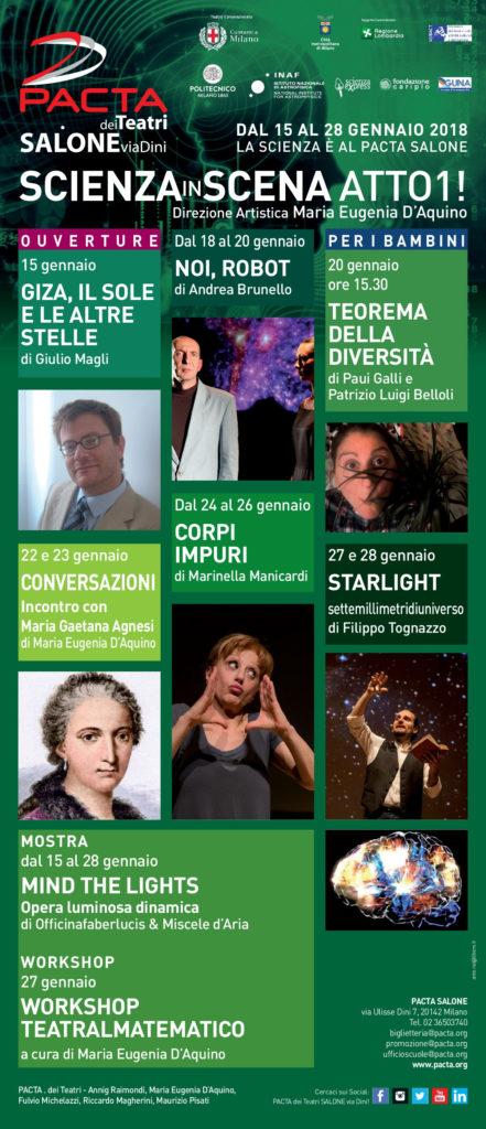 SCIENZA IN SCENA ATTO 1! @ PACTA Salone | Milano | Lombardia | Italia